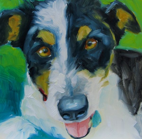 """Buddy"" original fine art by Mb Warner"