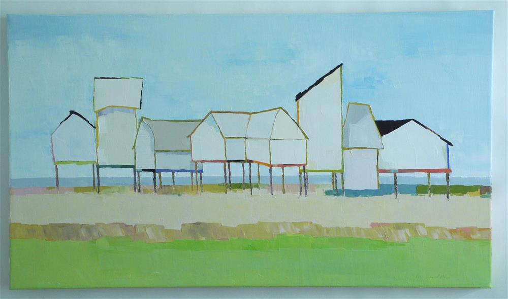 """""""Coastal Living Commission"""" original fine art by Donna Walker"""