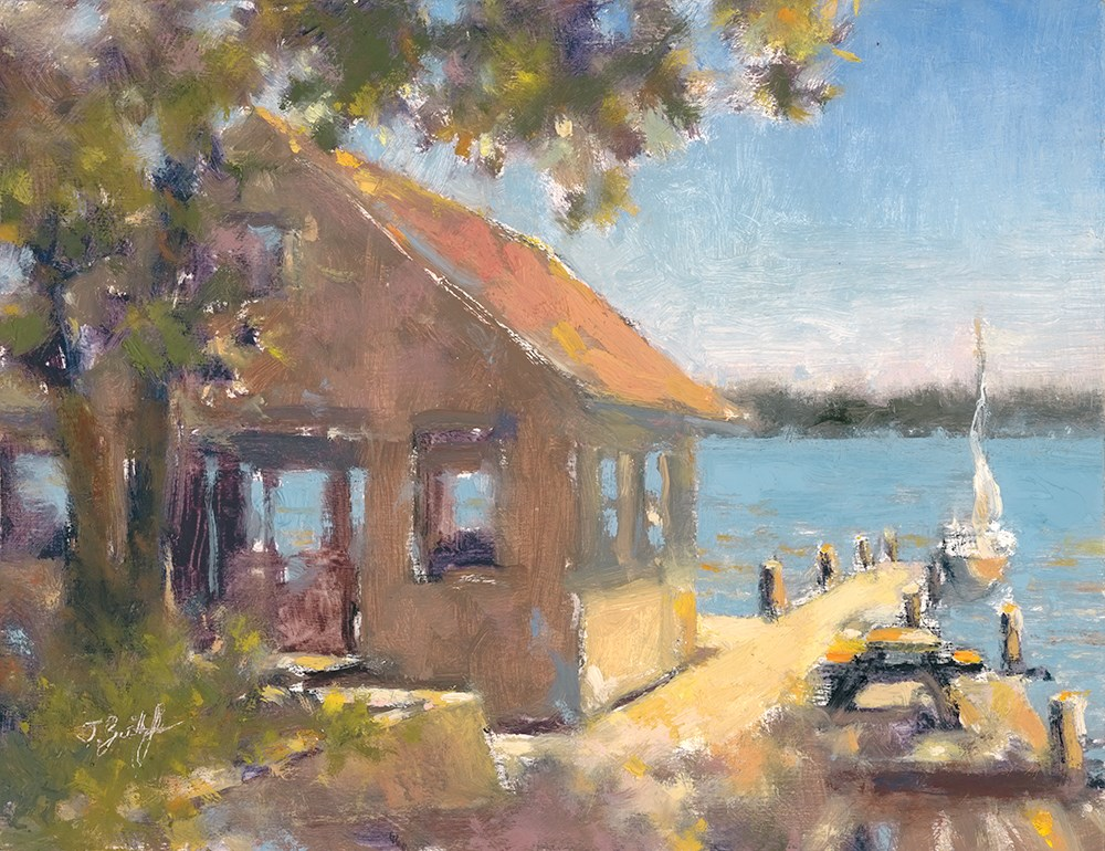 """""""Sundrenched In St. Clair"""" original fine art by Todd Zuithof"""
