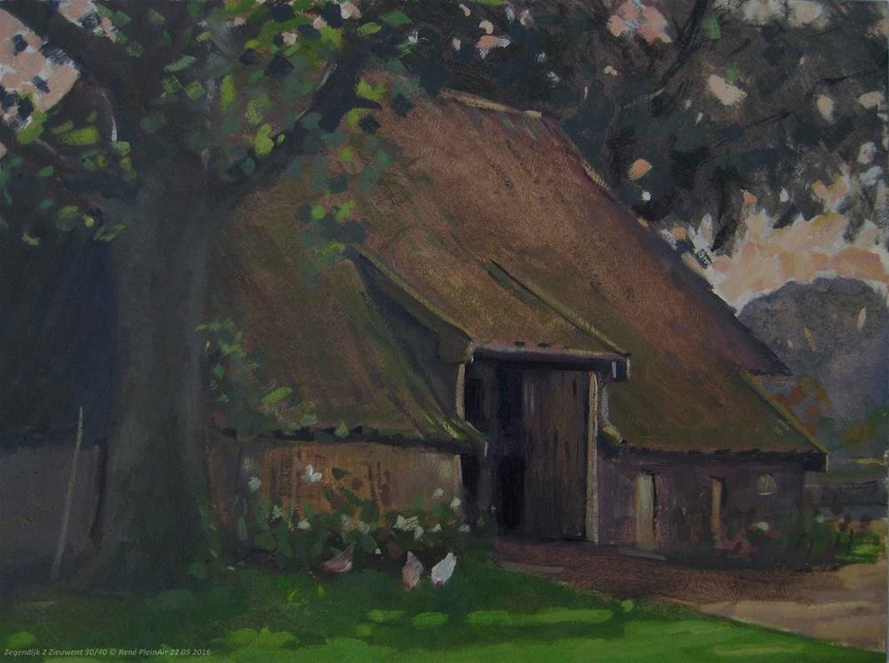 """Zegendijk 2. Zieuwent, The Netherlands."" original fine art by René PleinAir"