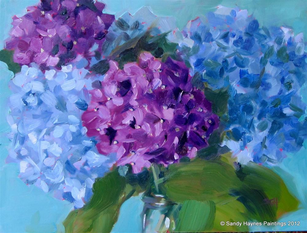 """Up Close"" original fine art by Sandy Haynes"