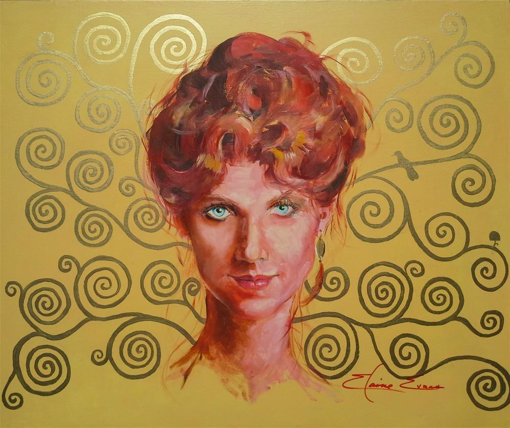 """Miranda"" original fine art by Elaine Evans"