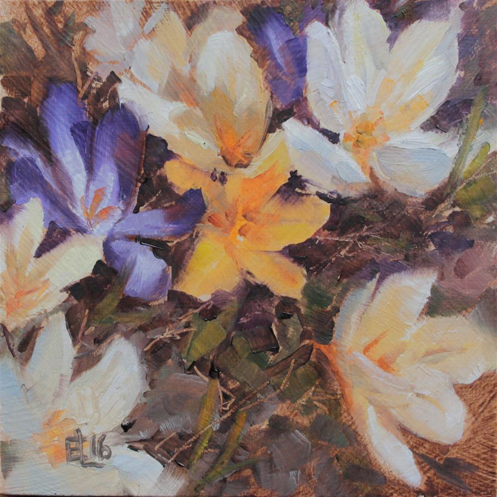 """Signs of Spring Challenge"" original fine art by Emilia Leinonen"