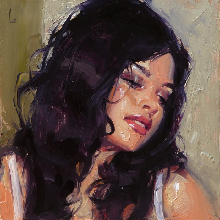 """Adore"" original fine art by John Larriva"