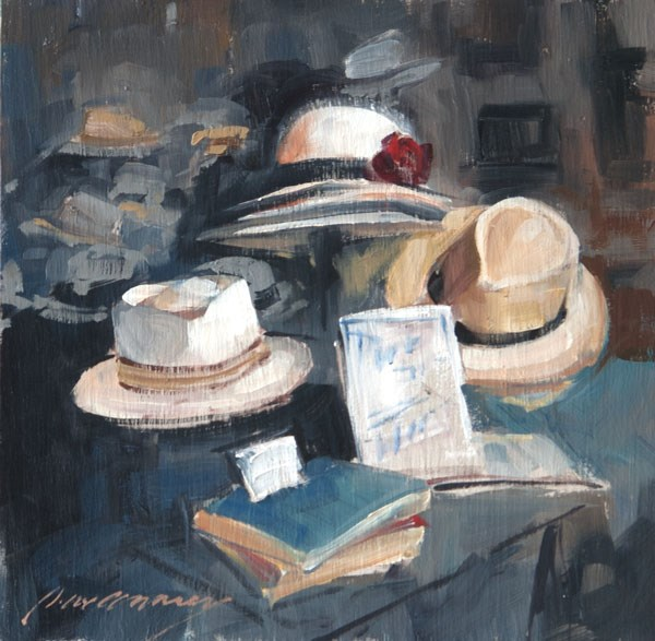 """Panama Sketch"" original fine art by Patricia Canney"