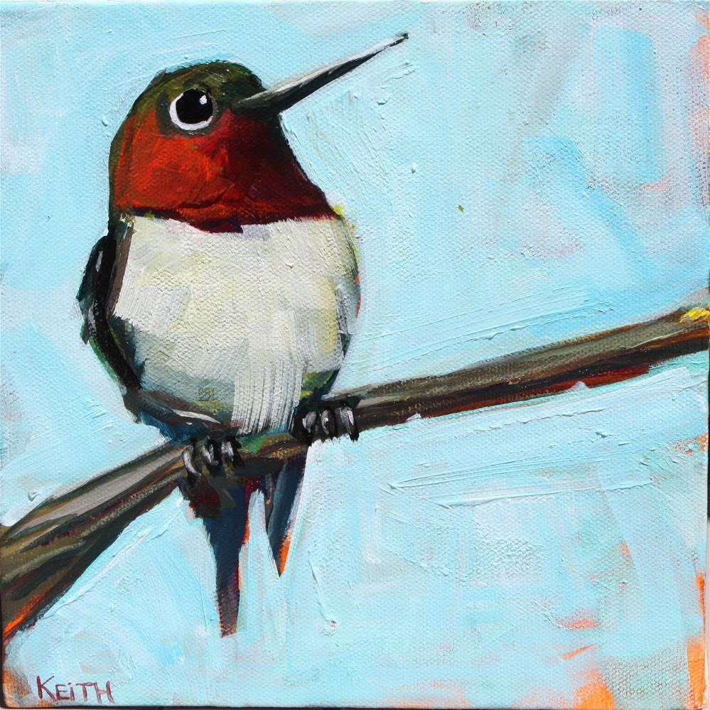 """Humble Hummer"" original fine art by Kandice Keith"