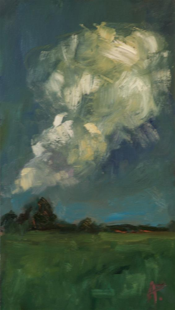"""Swirling Clouds"" original fine art by Andre Pallat"