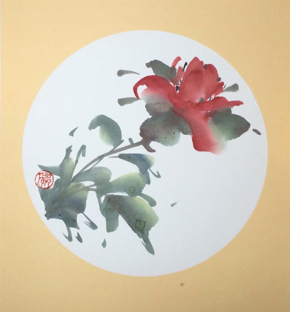 """Peony"" original fine art by R kwong"