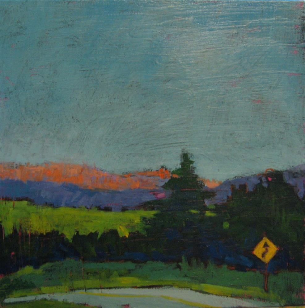 """Good- Bye Vermont"" original fine art by Kristina Davidson"