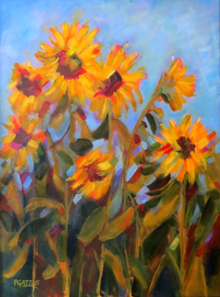 """Summer Stock"" original fine art by Pamela Gatens"