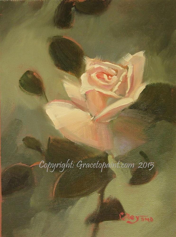 """Princess Rose"" original fine art by Maresa Lilley"