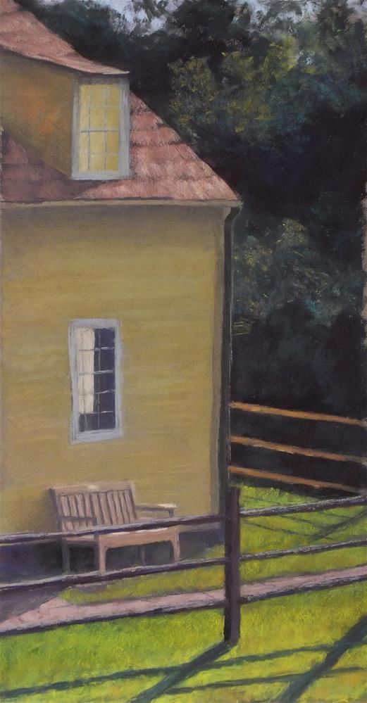 """Corner"" original fine art by Linee Baird"