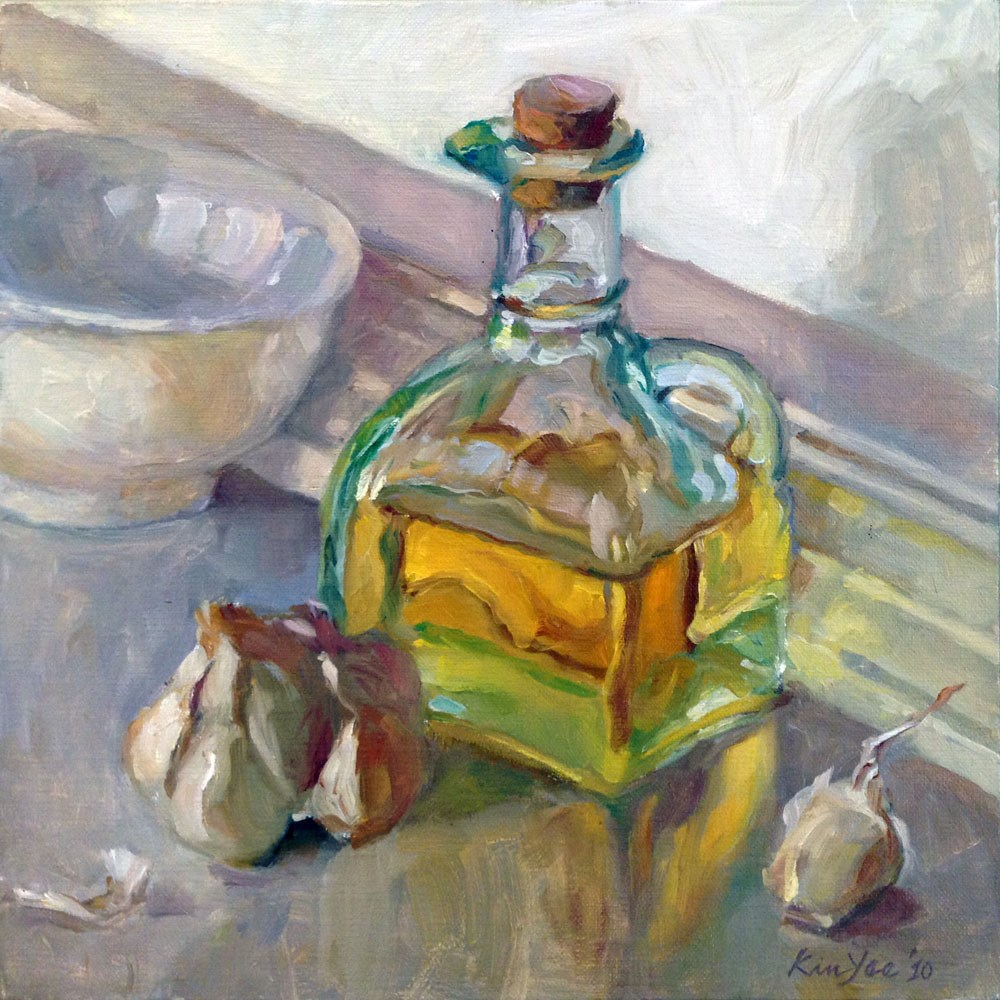 """The Good Oil"" original fine art by Myriam Kin-Yee"