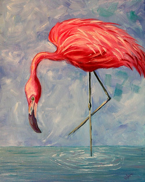 """Bird Legs"" original fine art by Sunny Williams"