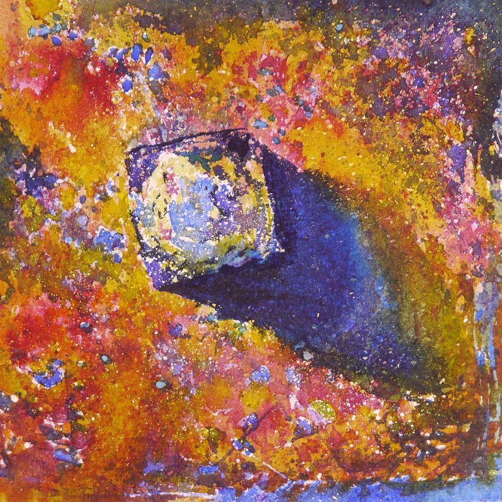 """rusty_3"" original fine art by Beata Musial-Tomaszewska"