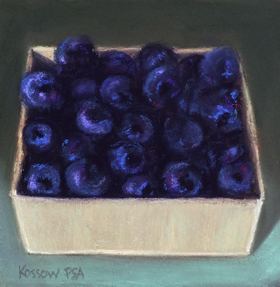 """Blues"" original fine art by Cristine Kossow"