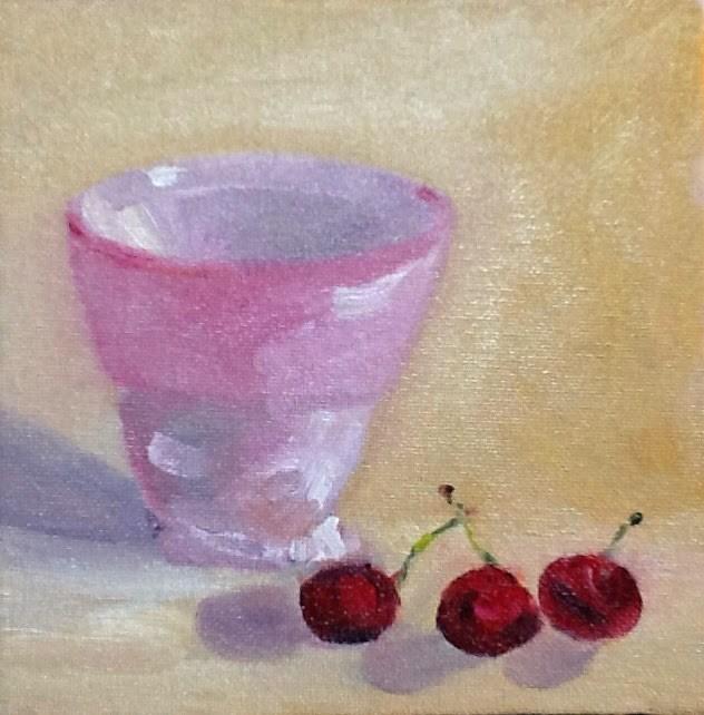 """Life"" original fine art by Peggy Schumm"