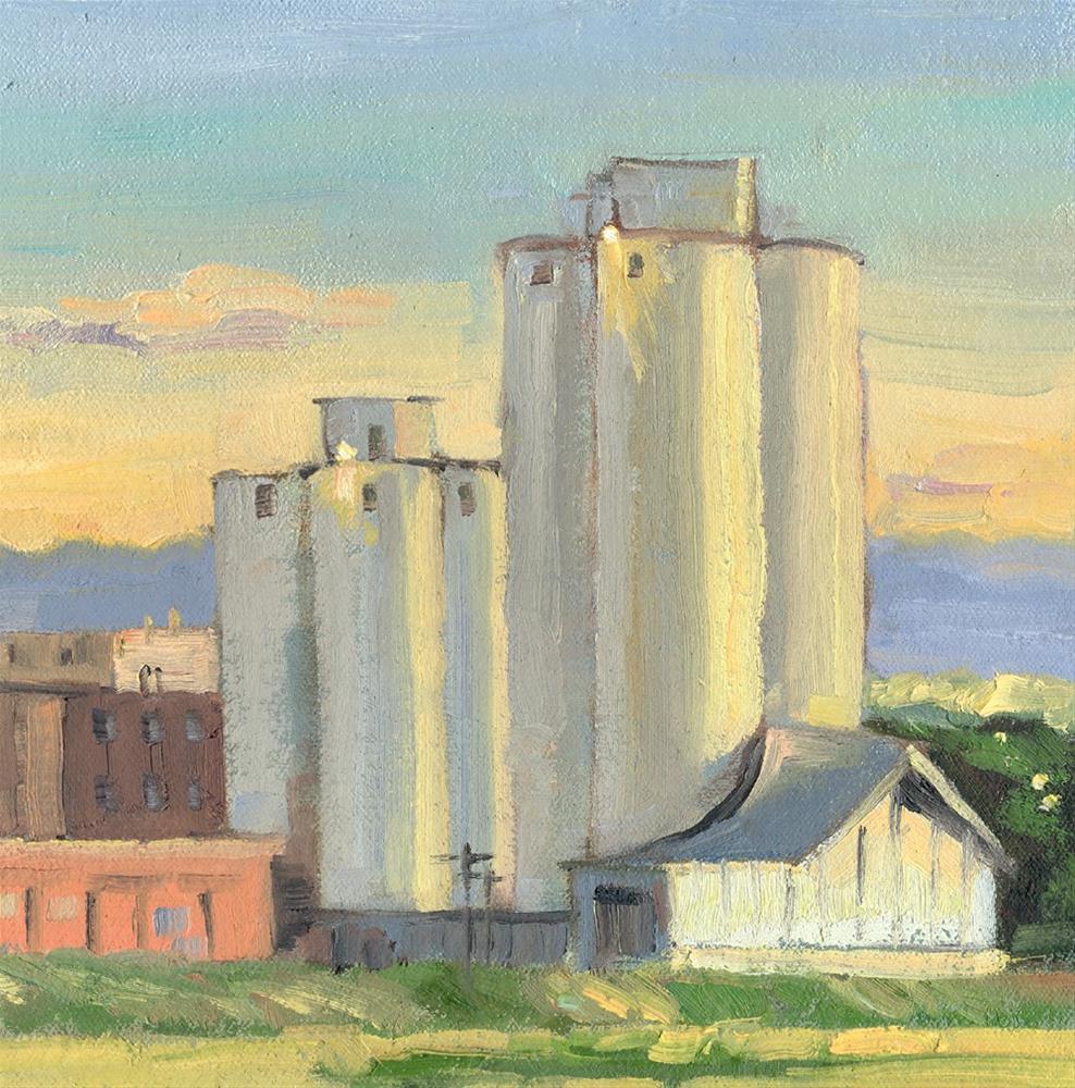 """Sugar Mill"" original fine art by Kath Reilly"