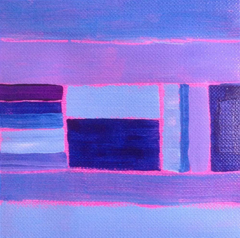 """""""Pattern Playgrounds"""" original fine art by Dotty  Seiter"""