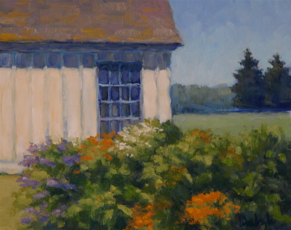 """Summer Garden"" original fine art by Lisa Kyle"