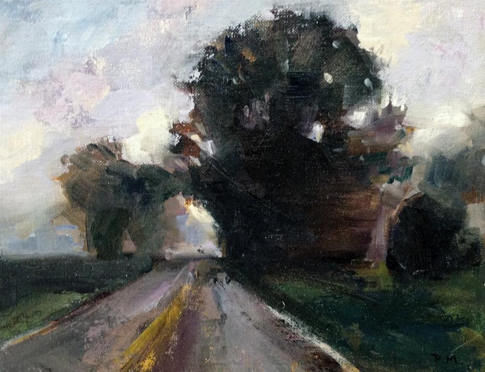 """""""October in Ohio"""" original fine art by Patti McNutt"""