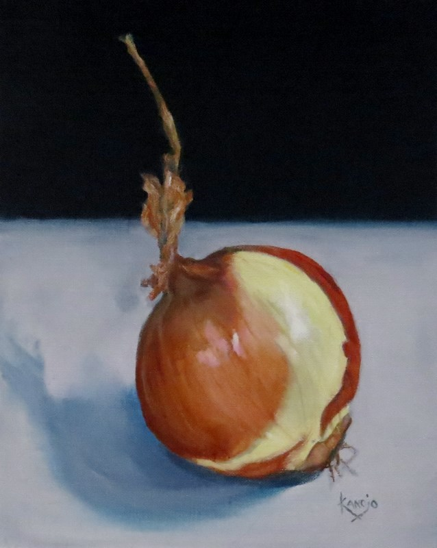 """The French Onion"" original fine art by Wendy Winbeckler"