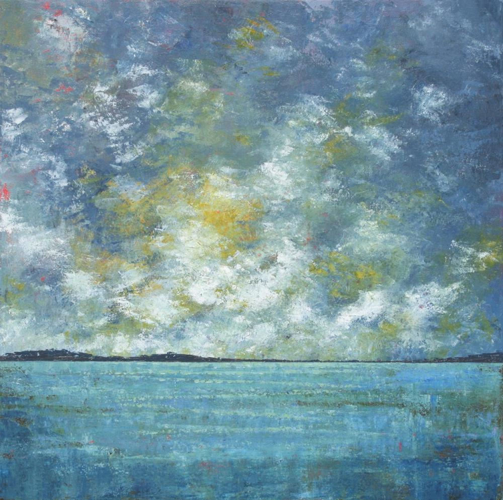 """Low Belly of Rain"" original fine art by Sage Mountain"
