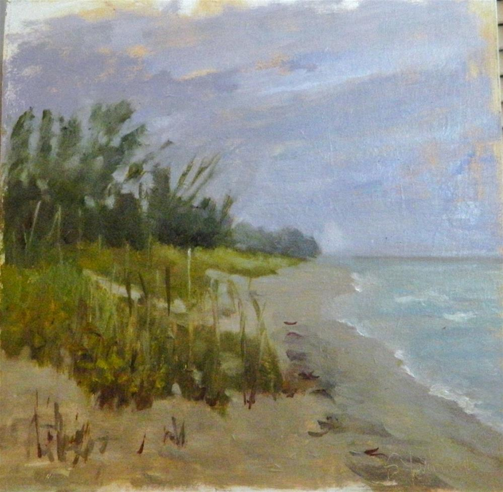 """Blind Pass Beach"" original fine art by Sharon Yarbrough"