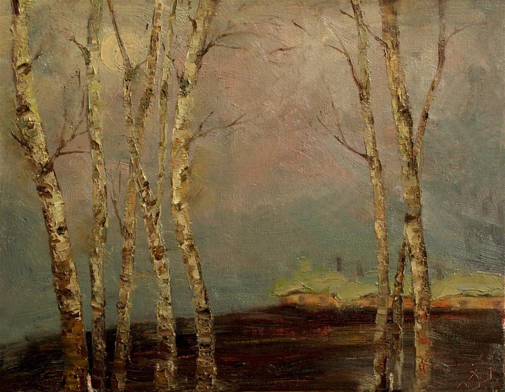 """""""Landscape"""" original fine art by chunji xu"""