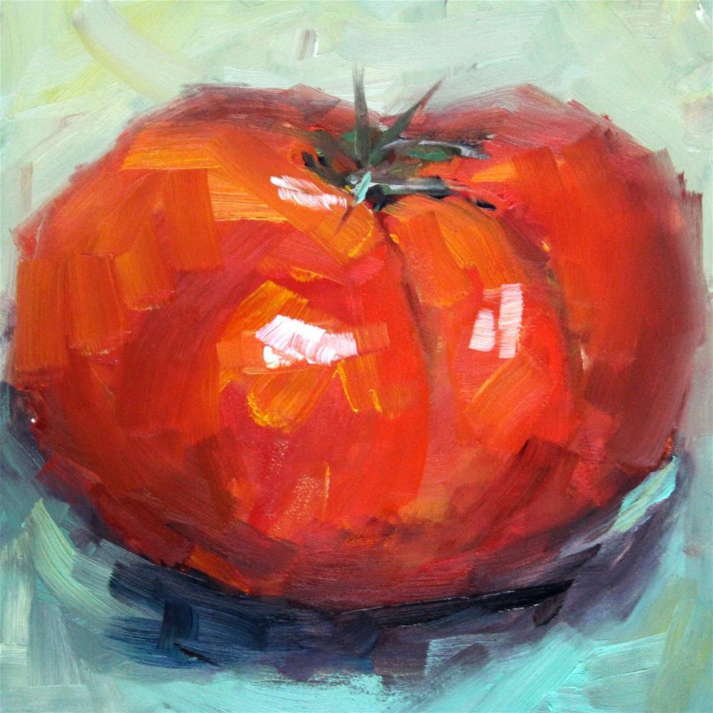 """""""Beefsteak"""" original fine art by Susan Galick"""