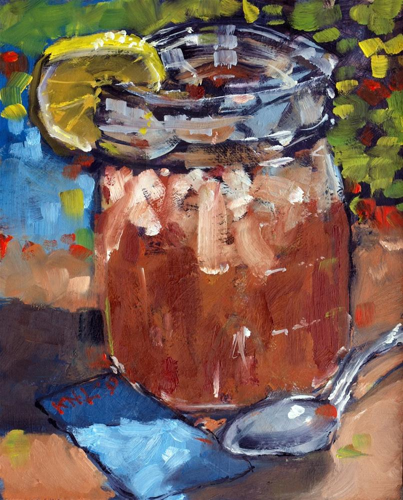 """Ball  Mason Jar"" original fine art by Rick Nilson"