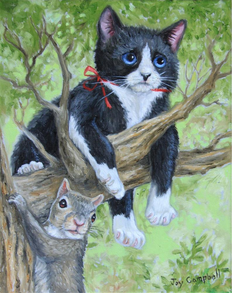 """Out on a Limb"" original fine art by Joy Campbell"