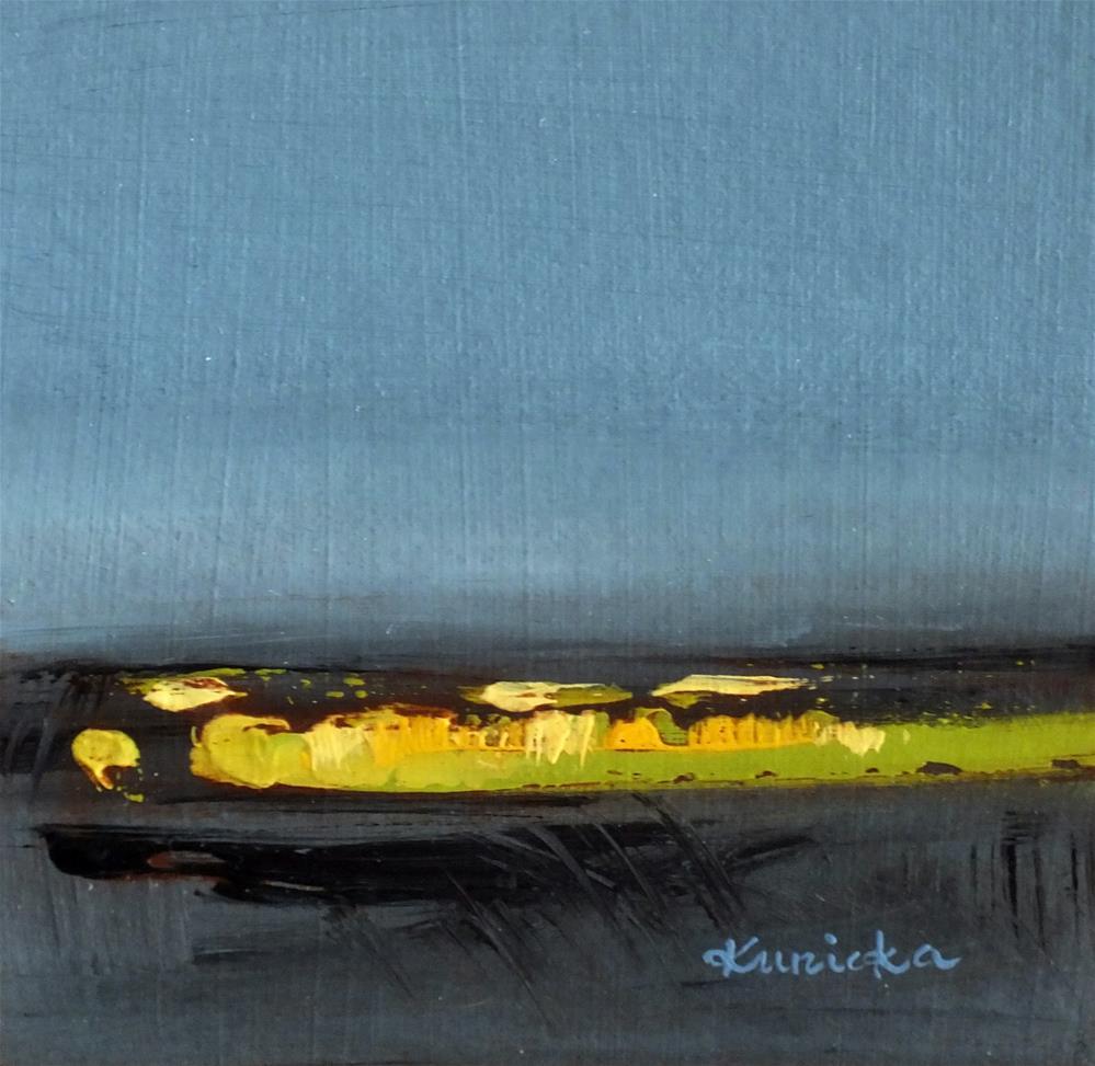 """Landscape 362"" original fine art by Ewa Kunicka"