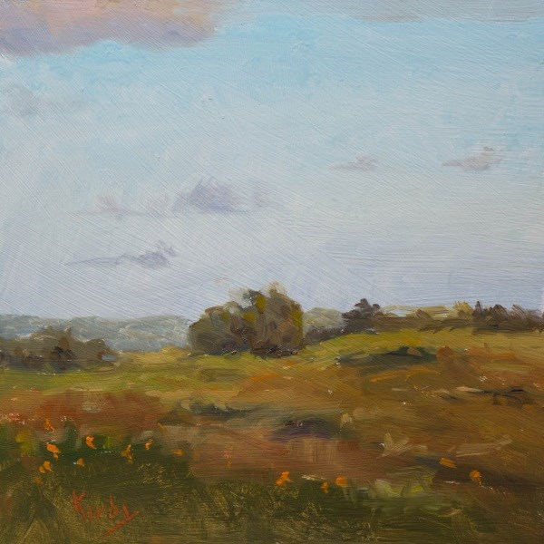 """Field of Many"" original fine art by Randall Cogburn"