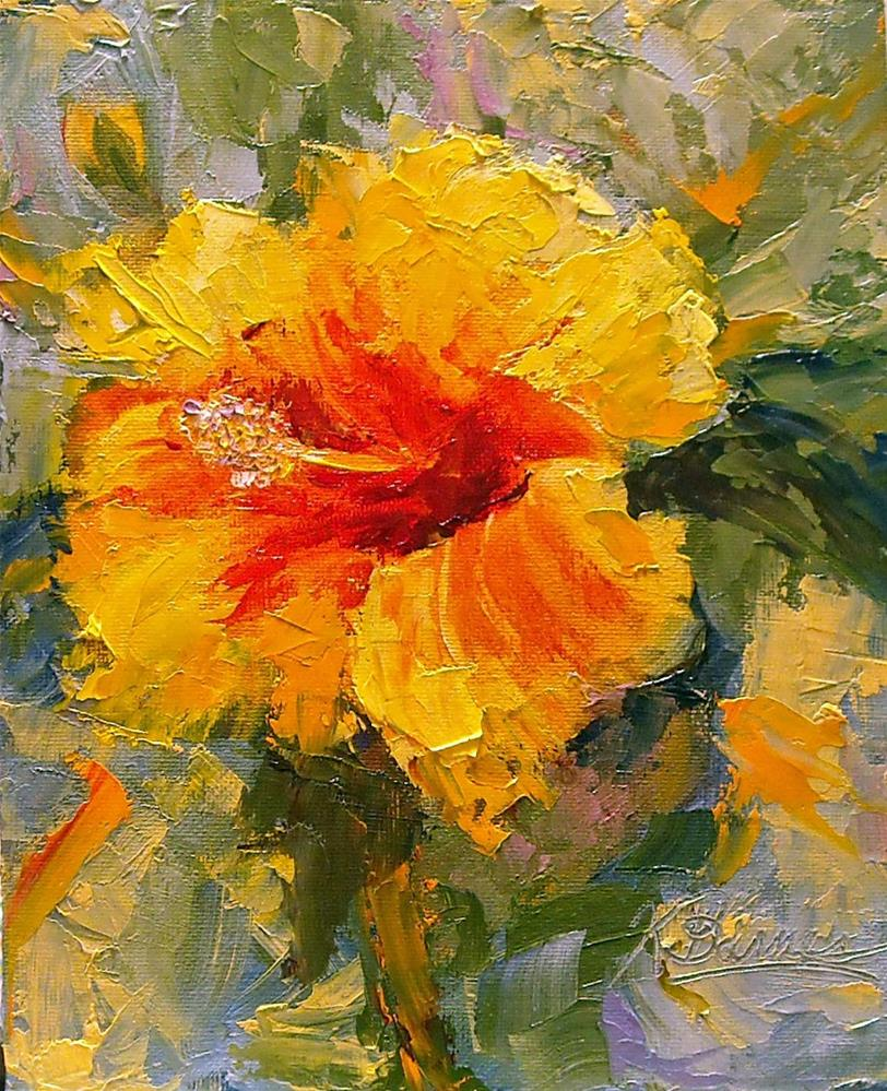 """Maui explosion"" original fine art by Kathleen Barnes"
