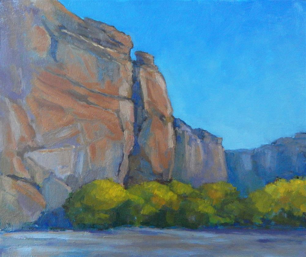 """In the Canyon"" original fine art by Lisa Kyle"