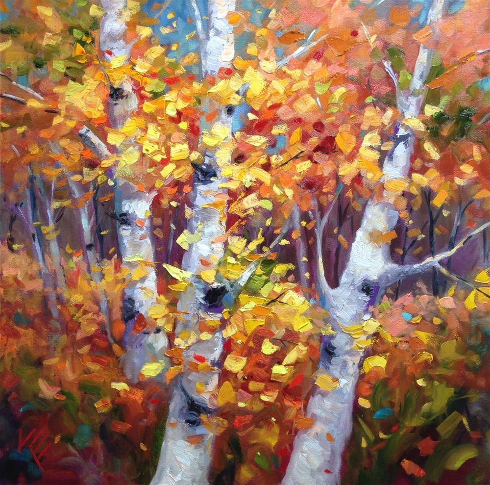 """Autumn's Glory"" original fine art by Krista Eaton"