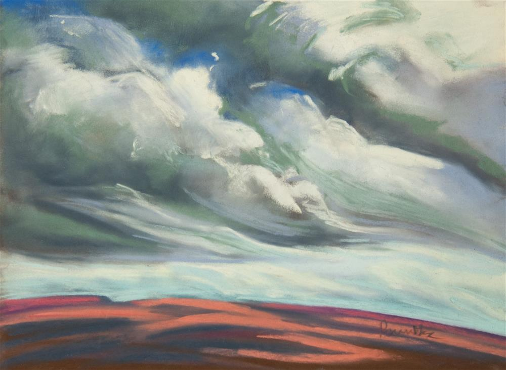 """Sheltering Sky"" original fine art by Sarah Peroutka"