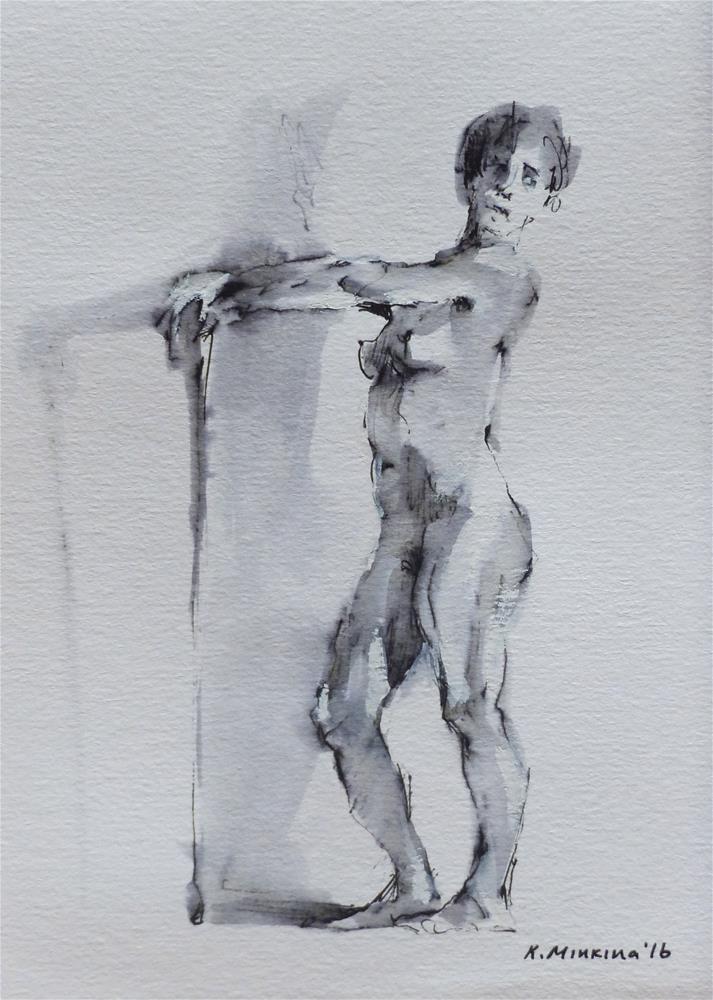 """sketchbook#16"" original fine art by Katya Minkina"