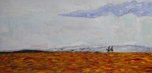 """Presidio"" original fine art by William Cook"