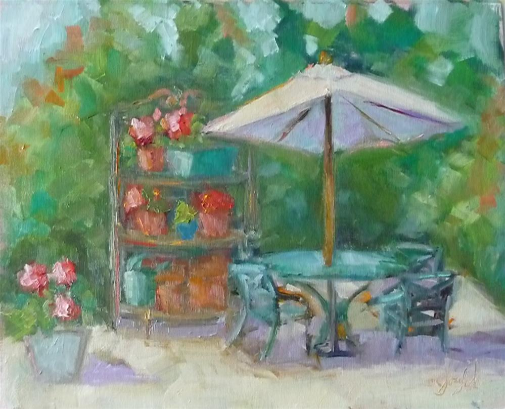 """Summer Day"" original fine art by Carol Josefiak"