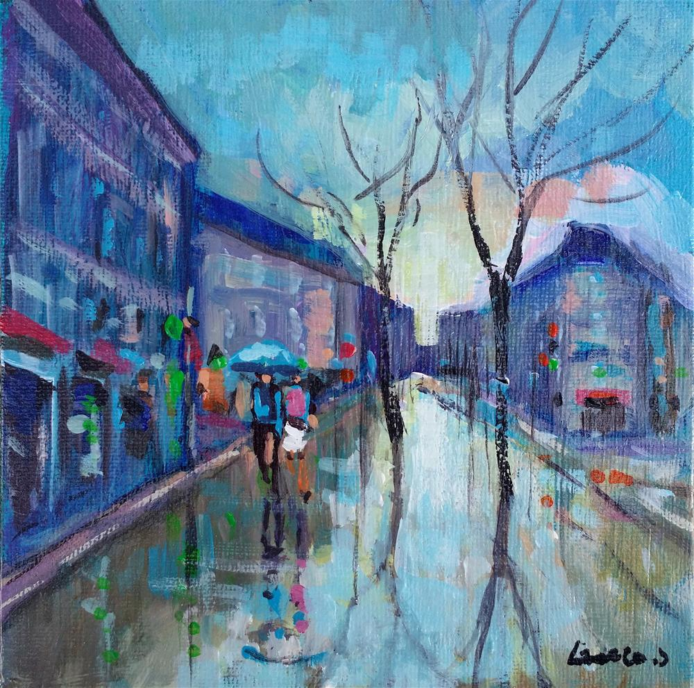 """Paris #4"" original fine art by salvatore greco"