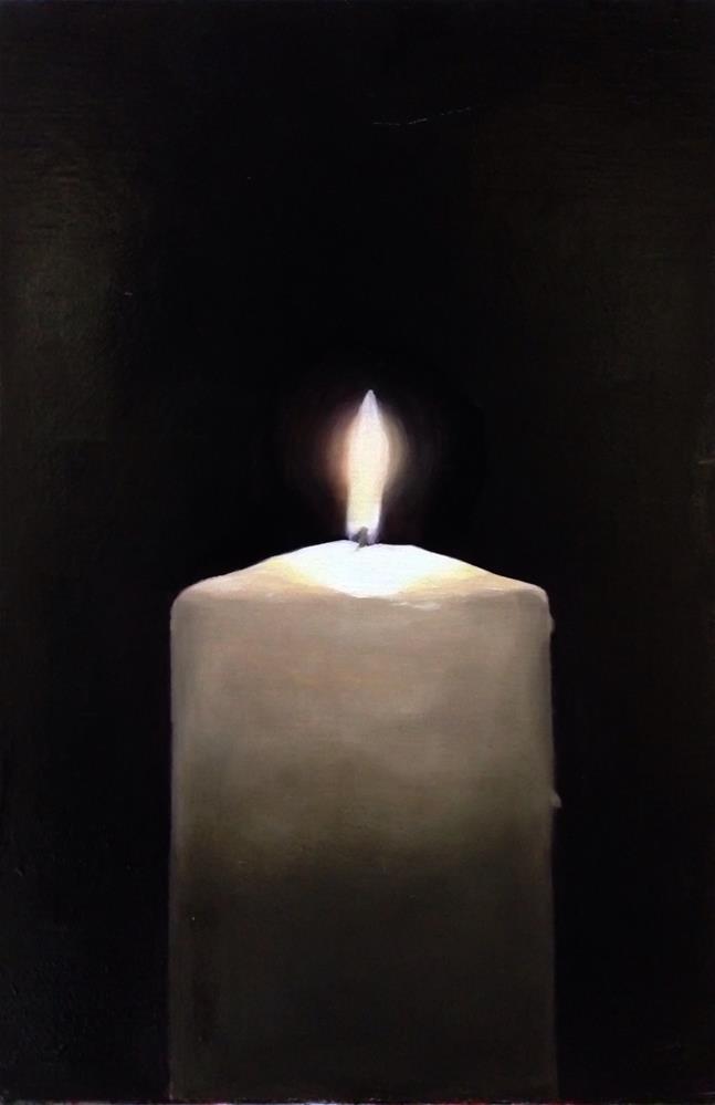 """Candle"" original fine art by James Coates"