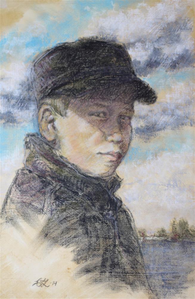 """Paavo"" original fine art by Emilia Leinonen"