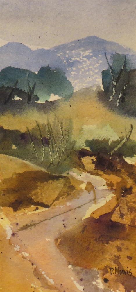 """Rocky Trail"" original fine art by Dann Morris"