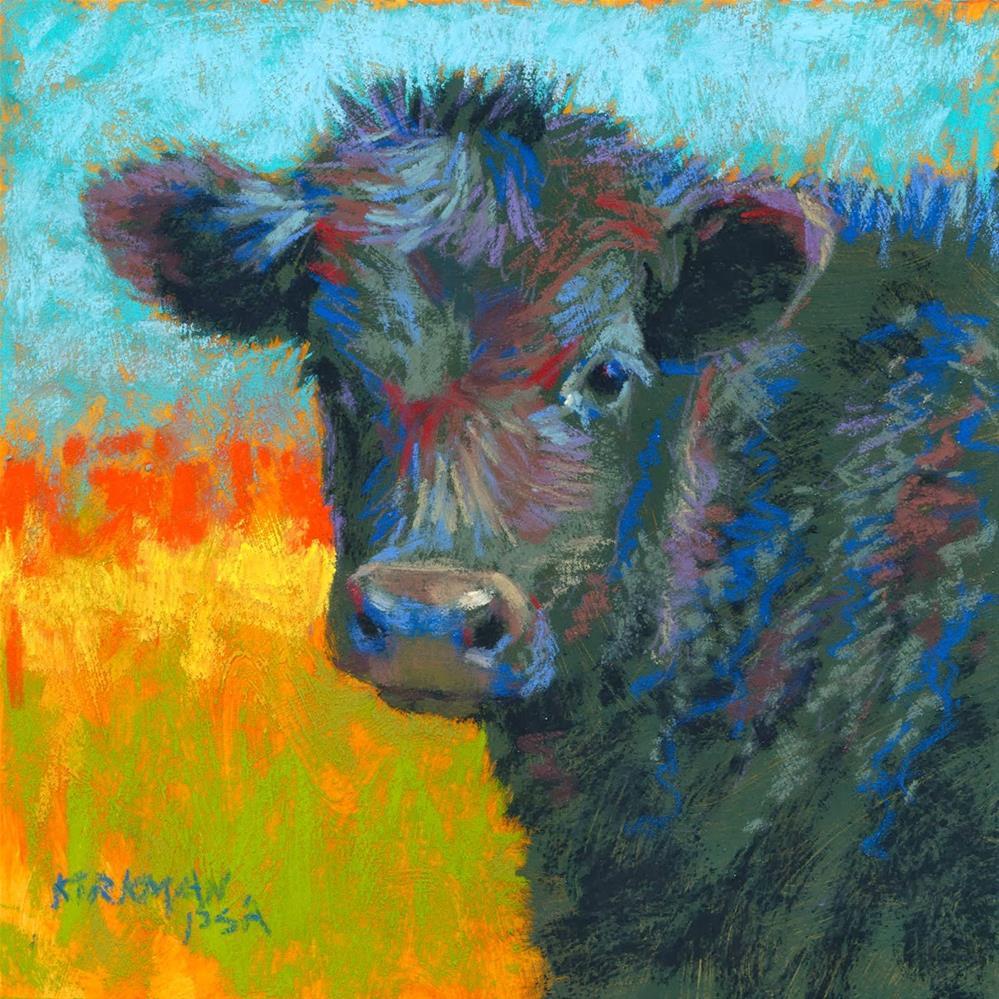 """Spunky"" original fine art by Rita Kirkman"