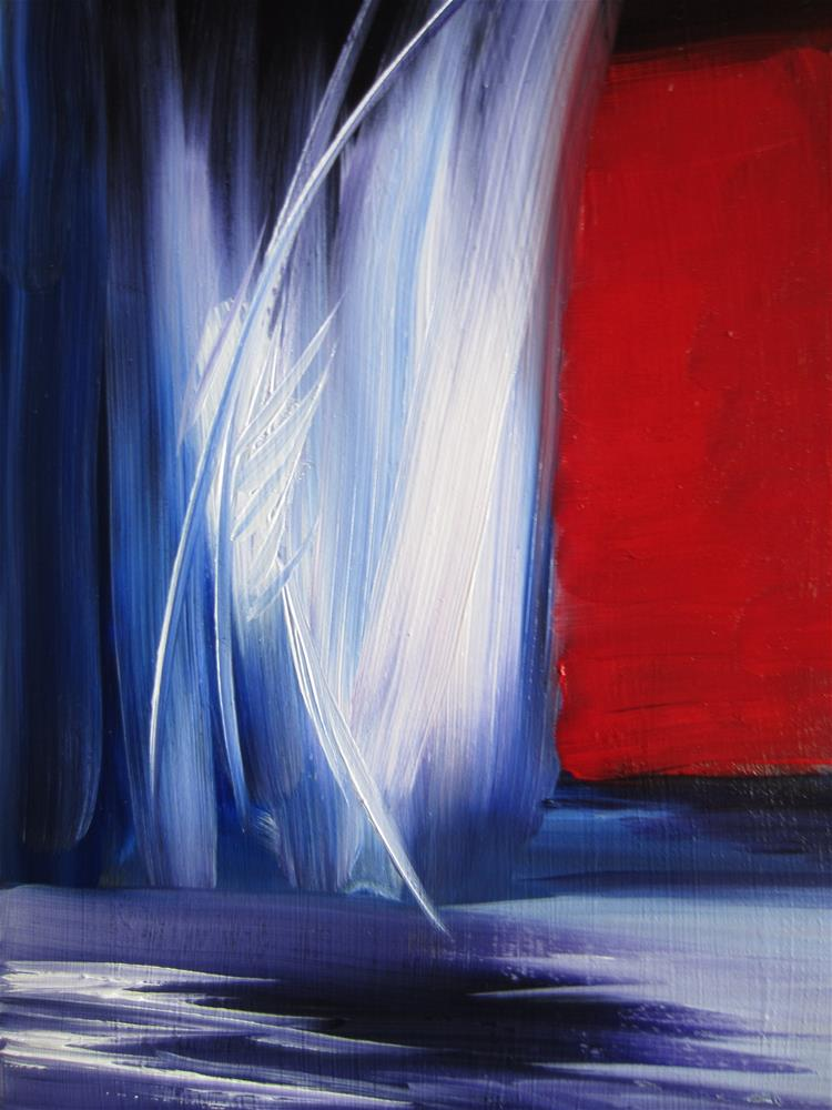 """""""Abstract"""" original fine art by Dolores Pettit"""