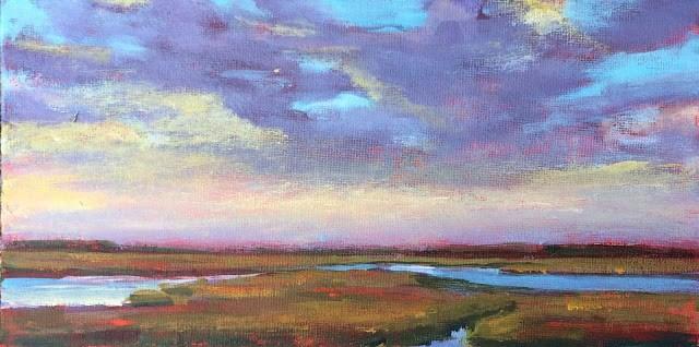 """Sigh, 6x12 Acrylic Painting by Kelley MacDonald"" original fine art by Kelley MacDonald"