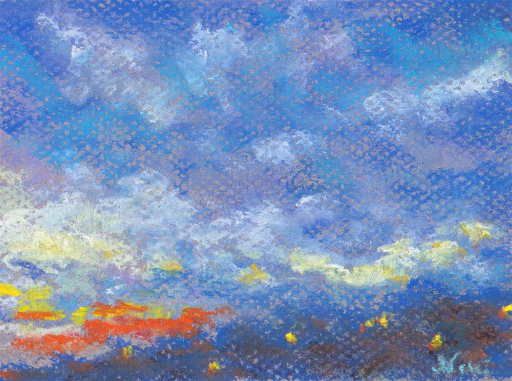 """Evening Sky"" original fine art by Niki Hilsabeck"