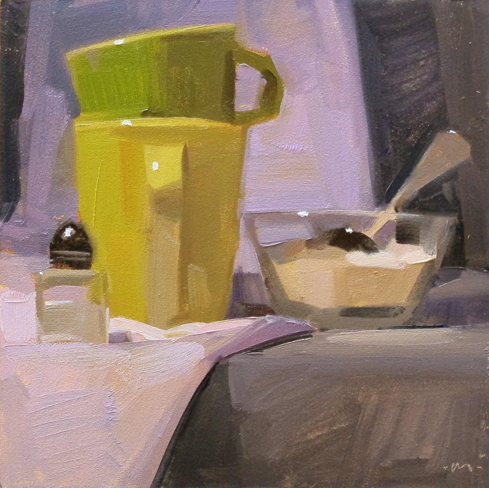 """Salt or Sweet?"" original fine art by Carol Marine"
